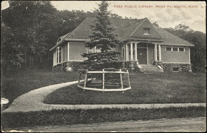 Free public library, West Falmouth, Mass.