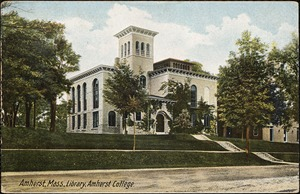 Amherst, Mass., library, Amherst College