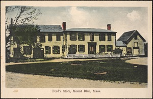 Ford's Store, Mount Blue, Mass.
