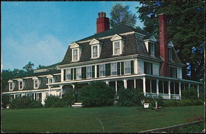 Home of Henry Norwell, Boston merchant, who lived here on Norwell Ave. for many years