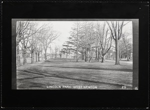Villages of Newton, MA. West Newton. Lincoln Pk
