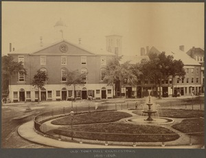 Old Town Hall, Charlestown. 1818-1868
