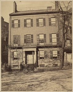 Daniel Webster House. Corner of Summer and High Streets