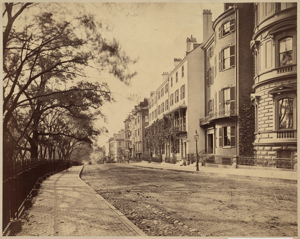 Beacon St., looking west from State House