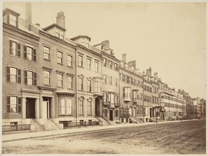 Beacon St., looking towards Charles St.