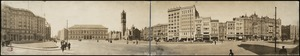 Panoramic view of Boston's Copley Square