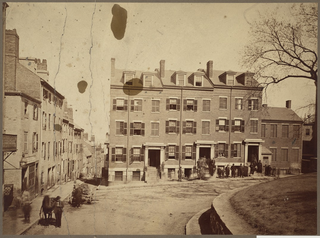 Fort Hill in 1860