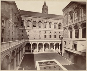Boston Public Library. Copley Square. Courtyard