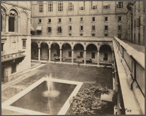 Boston Public Library, Copley Square. Courtyard