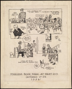 Fineless book week at West End. October 17-22, 1932