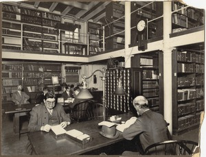 Boston Public Library. Statistical department