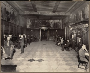 Boston Public Library, Copley Square. Issue department