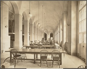 Boston Public Library, Copley Square. West gallery