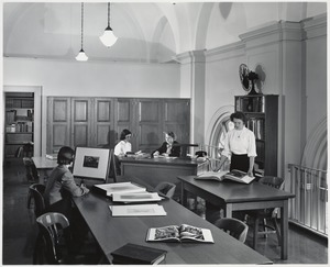 Print department office, after enlargement