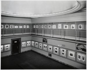 Boston Public Library. Albert H. Wiggin Gallery. Exhibition. Contemporary American Prints. Organized for the museums in Israel