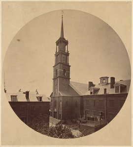 Hollis St. Church. 1810-1885