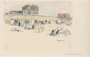 On the sands, Domburg