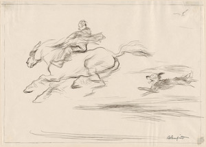 "Design for ""The galloping horse"""