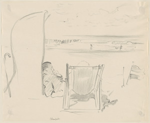 Holiday sketches of Domburg, Holland - also Paris