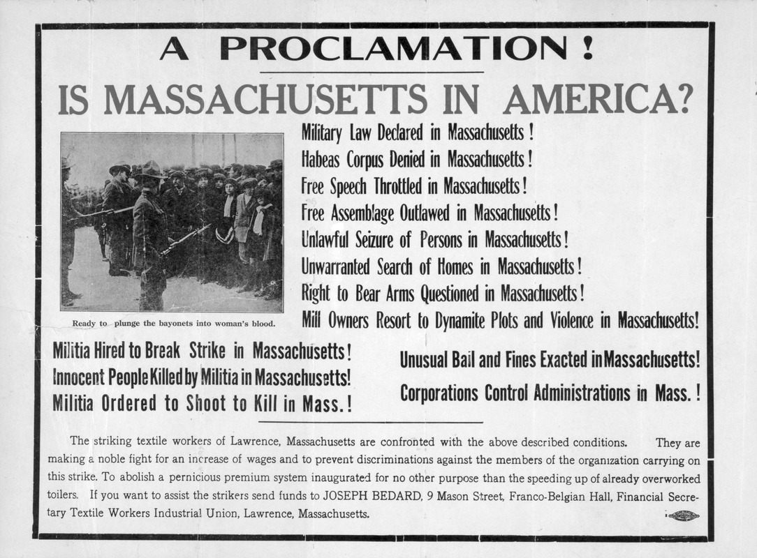 A proclamation! Is Massachusetts in America?