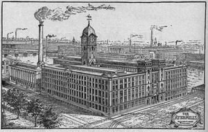 The Ayer Mills. William M. Wood, president