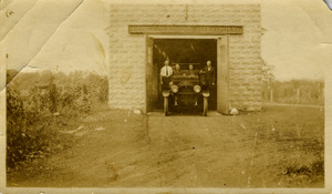 First Wilbraham Fire Station and Truck