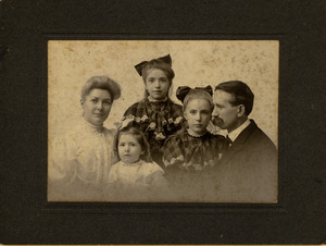 Reverend A. B. Tyler and family