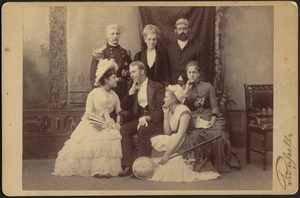 Cast from theatrical production