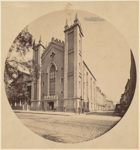 Old Masonic Temple and view of Temple Place