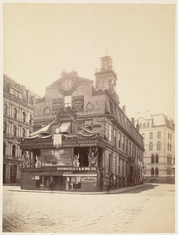 Old State House. East End. July 4, 1876