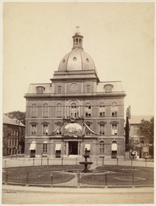 Old City Hall. Charlestown. July 4, 1876