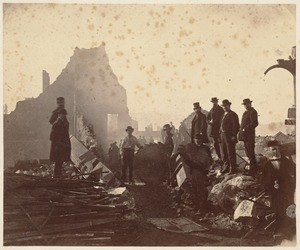 Federal Street, Hunt and Company. After the fire of November 9-10