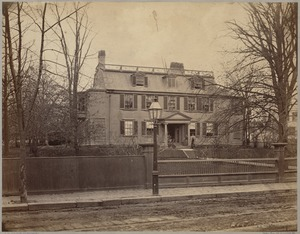 Houses: House, corner of Washington and Cliff Sts., Roxbury (occupied by M. Bradford)