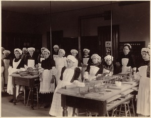 Unidentified school - young cooks