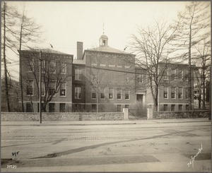 Massachusetts. Boston. Dorchester. Edward Everett School, Pleasant St.