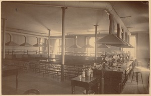 Boston Latin School - chemistry classroom (?)