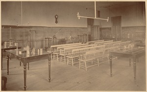 Boston Latin School - physics classroom(?)