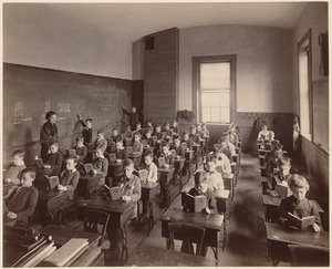 Brimmer School - interior - 6th class, 3rd division