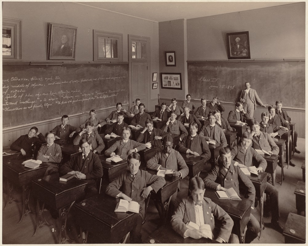 Boston Latin School - interior - class IV