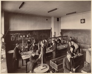 Boston Latin School - physical laboratory