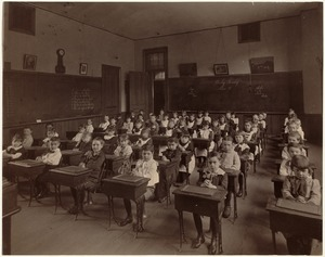 Third class, first room, Dudley Primary School, King Street