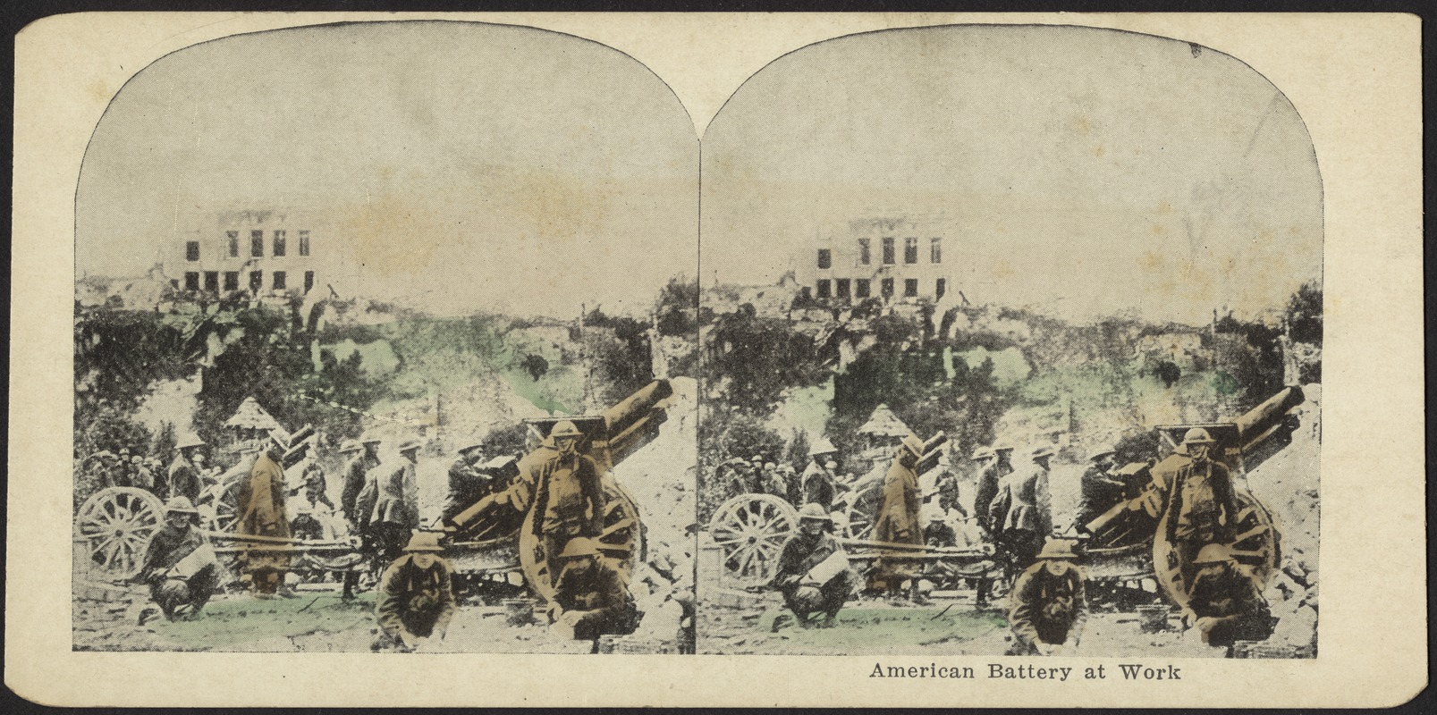 American battery at work