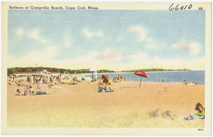 Bathers at Craigville Beach, Cape Cod, Mass.