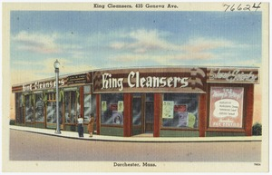 King Cleansers, 435 Geneva Ave., Dorchester, Mass.