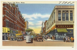 Main Street, Fall River, Mass.