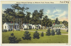 Wing's Mohawk Springs on Mohawk Trail, Florida, Mass.