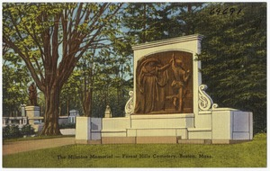 The Milmore Memorial -- Forest Hills Cemetery, Boston, Mass.
