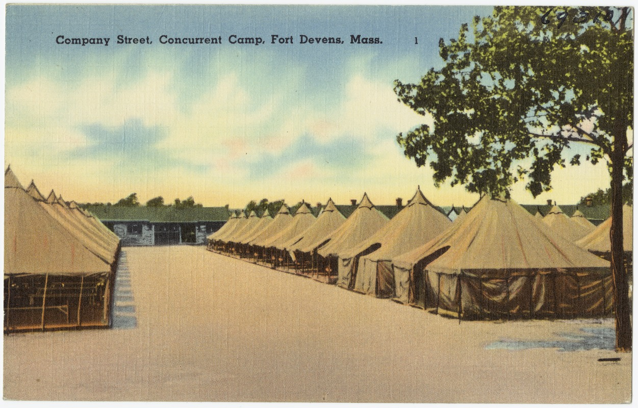 Company Street, Concurrent Company, Fort Devens, Mass.