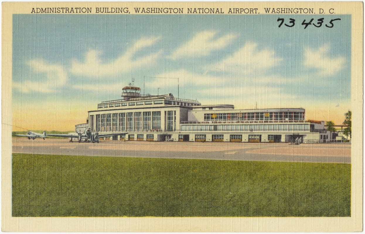 Administration building, Washington National Airport, Washington, D. C.