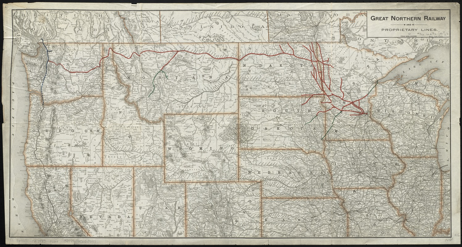 Great Northern Railway and proprietary lines